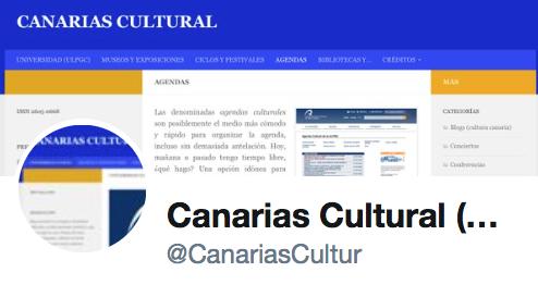 Twitter: @CanariasCultur